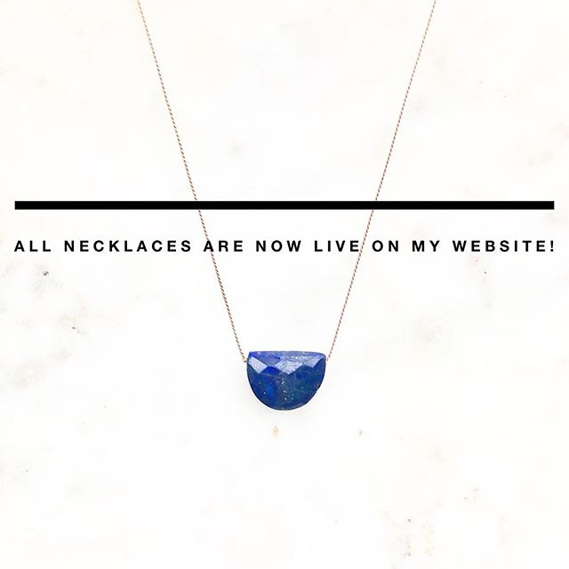 I have updated my website with new stones ✨ check it out! • • • #getstoned #local #jewelry #handmade #shoplocal