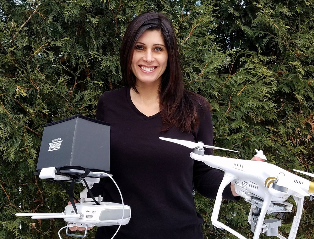 Cheri - President / sUAS PilotCheri's passion for aviation came about after an exhilarating introduction flight at Flying Cloud Airport. Her fascination with flying eventually led her to the exciting world of drones, where she's able to combine her love of flying, with her advertising background to bring a client's vision to life. In addition to being our lead sUAS pilot, Cheri is also a student pilot working toward her Private Pilot Certificate for manned aircraft.