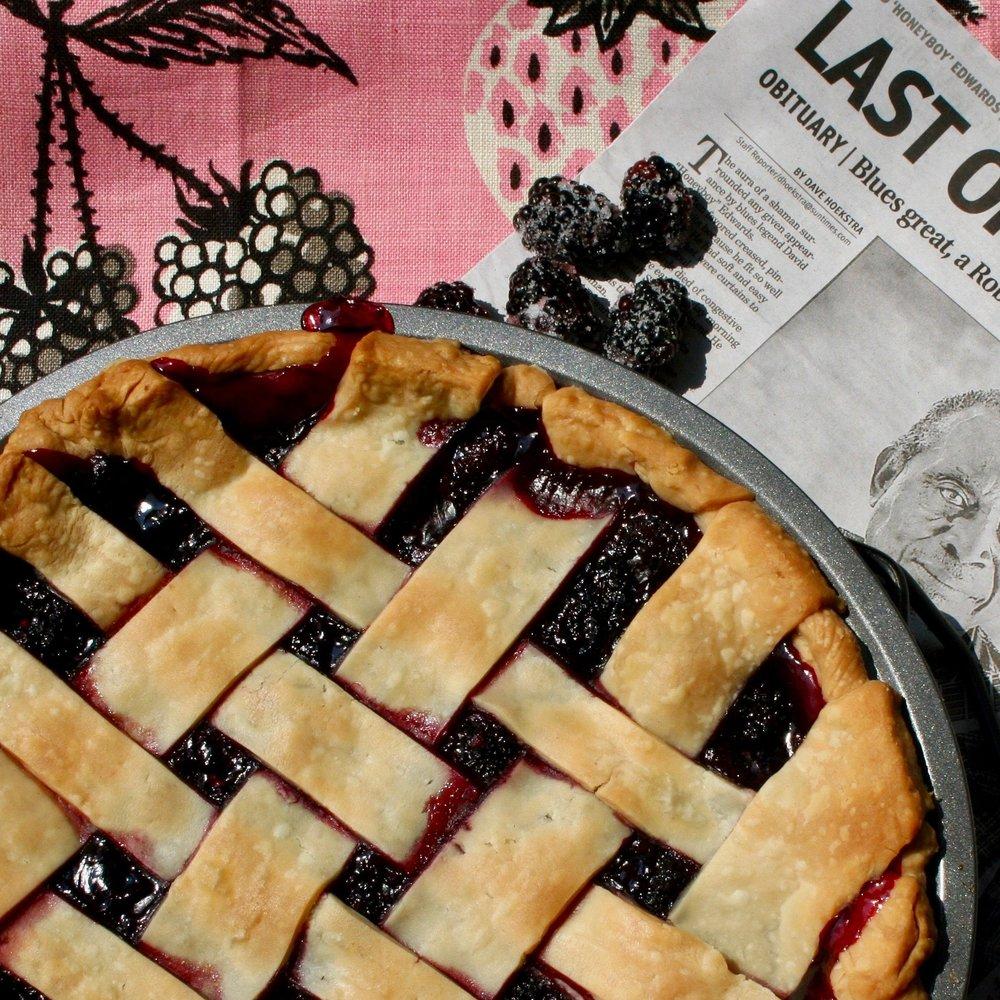 Delta Blues Blackberry Pie -