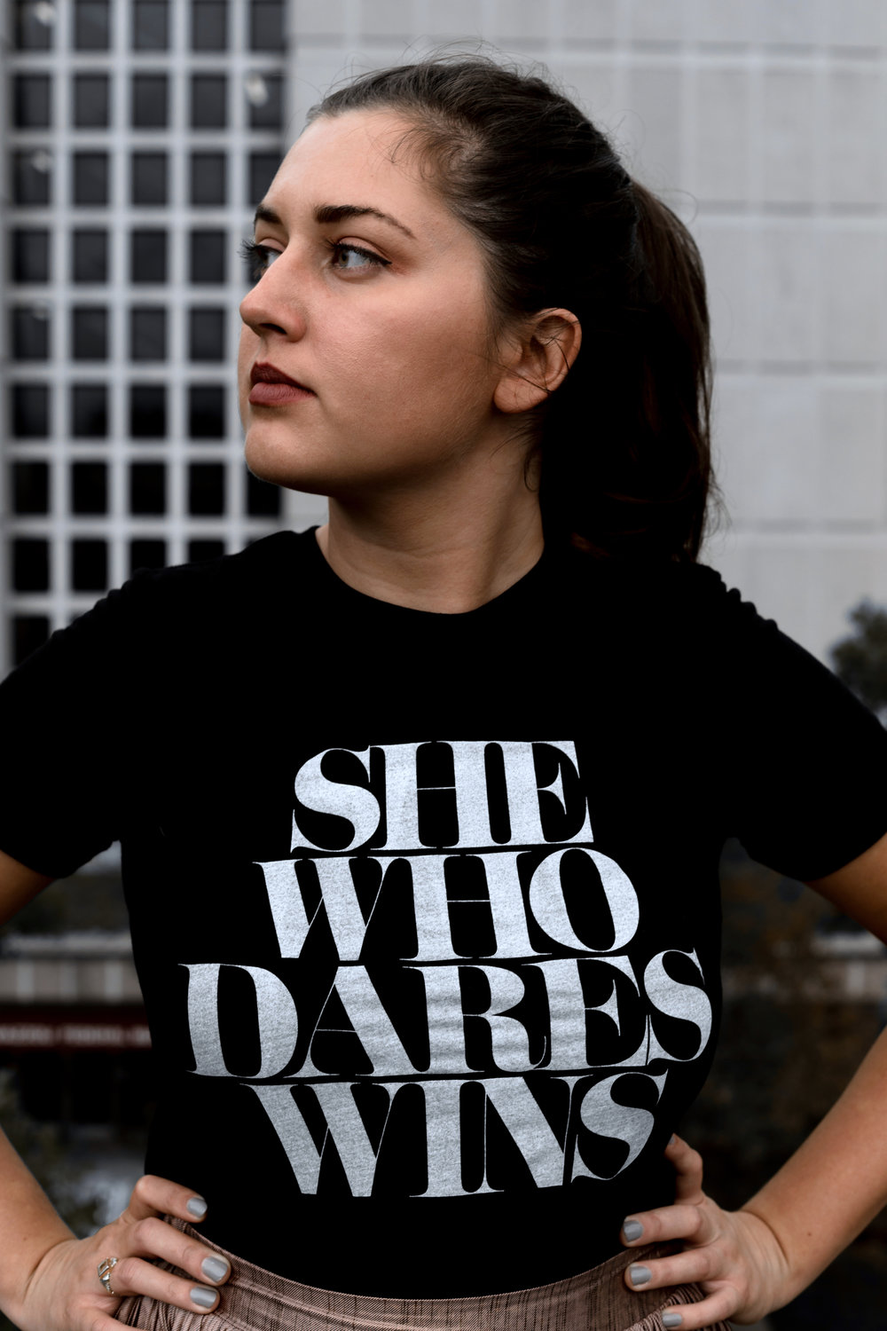 She Who Dares Wins Top, reviewed by Malina.