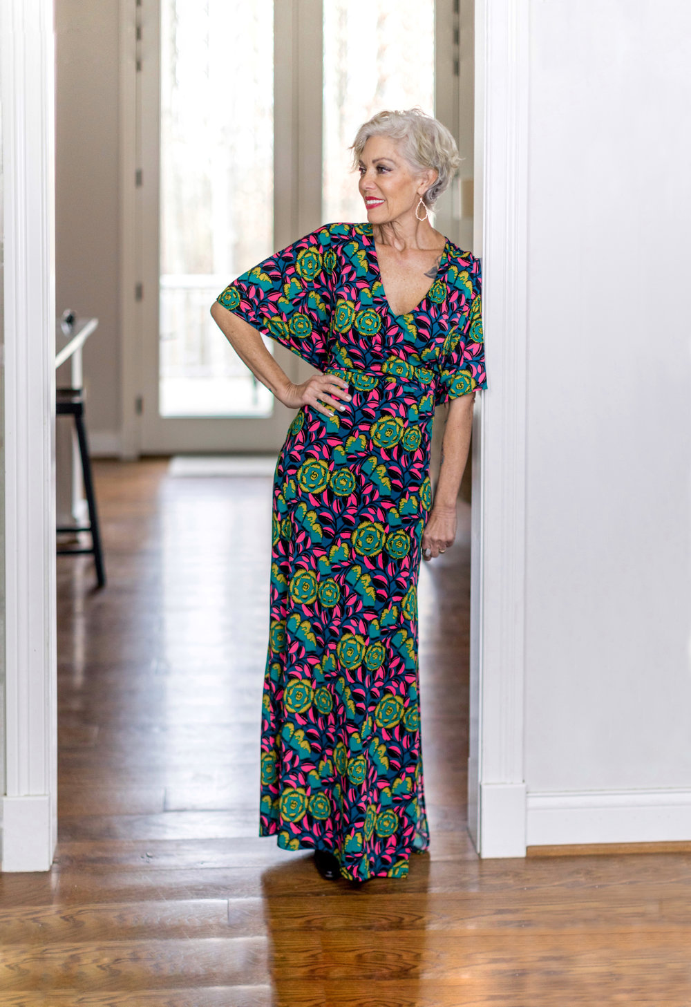 Rosie Caftan Maxi - Reviewed by Deby