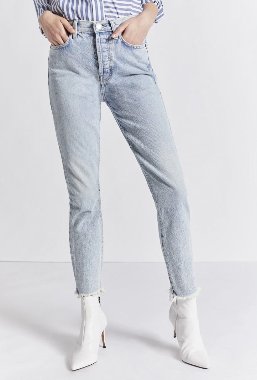 Ultra High Waist Skinny Jean