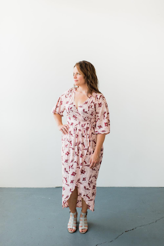 Hibiscus Flower Kimono Wrap, Symbology Clothing