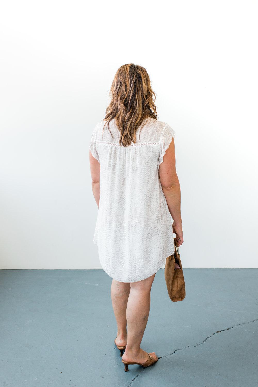 Flutter Sleeve Dress, Trend Boutique.