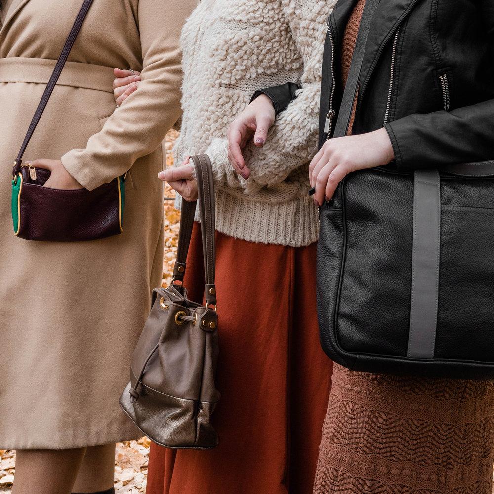 Laudi Vidni customized handbags.