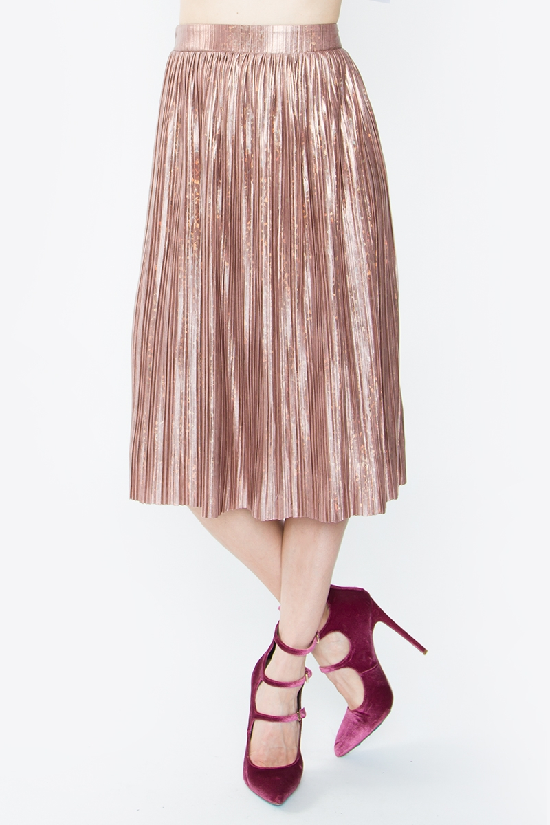 Minori Pleated Skirt