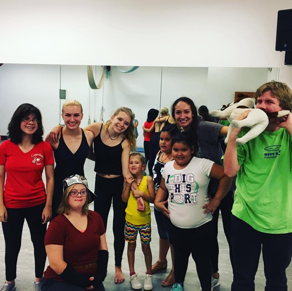 No Limits! - We are proud of our non-profit partner's program No Limtis.  It provides FREE dance classes and a performance in adaptive dance for kids with special needs in a Rhythm Works certified program.  Our teen leaders are classroom assistants and mentors to these incredible young performers.