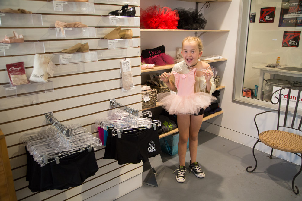 the dance store -