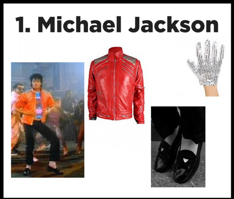 King of Pop - Whether you rock this iconic look from Beat It or rent one of our red Thriller jackets from our loft, you can transform into this legend in a snap!  Don't forget to practice your moonwalk!