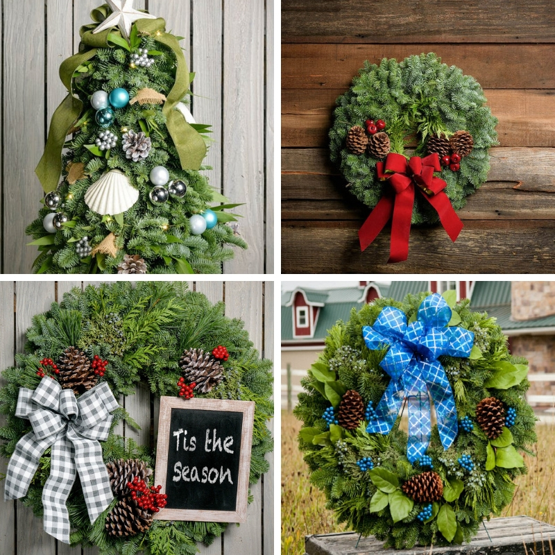 amp fundraiser - Spread holiday cheer and help raise funds for AMP. Check out these beautiful trees, wreaths and garlands that smell amazing!