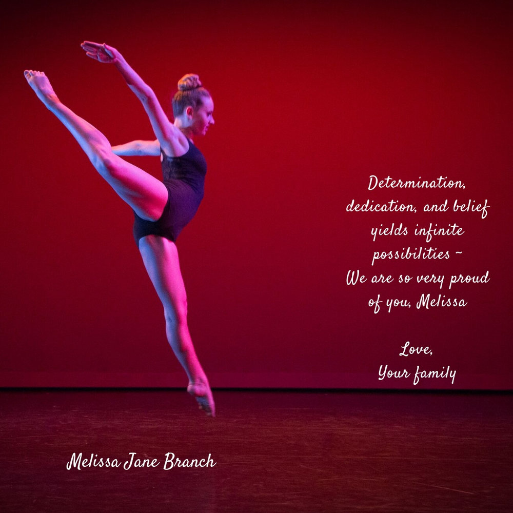 support your dancer or advertise your business in our program -