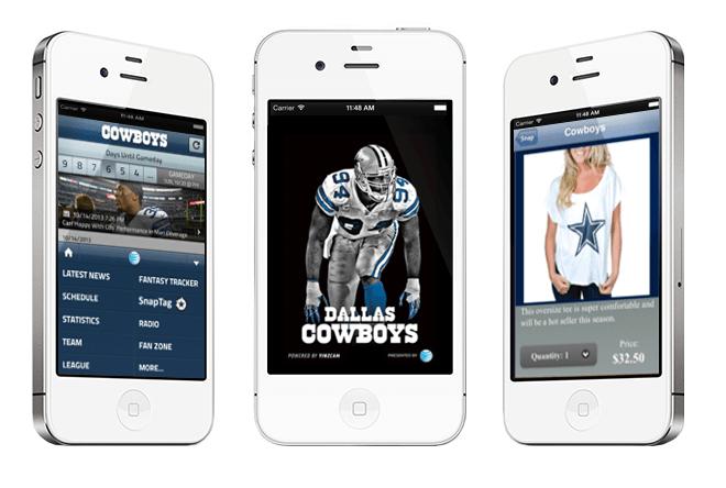 football app interface