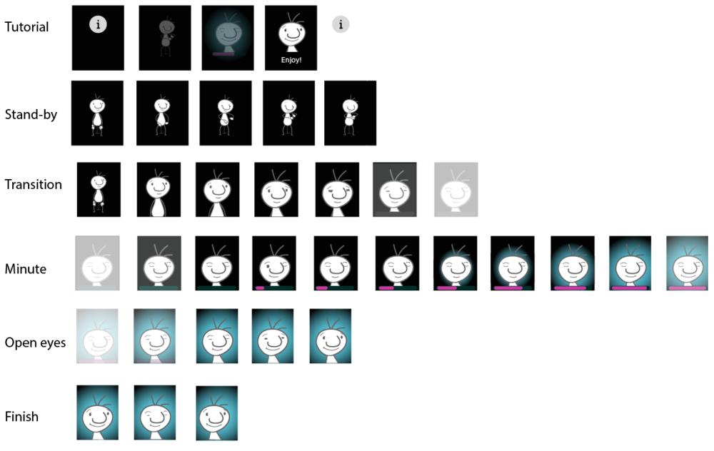 animation screen designs