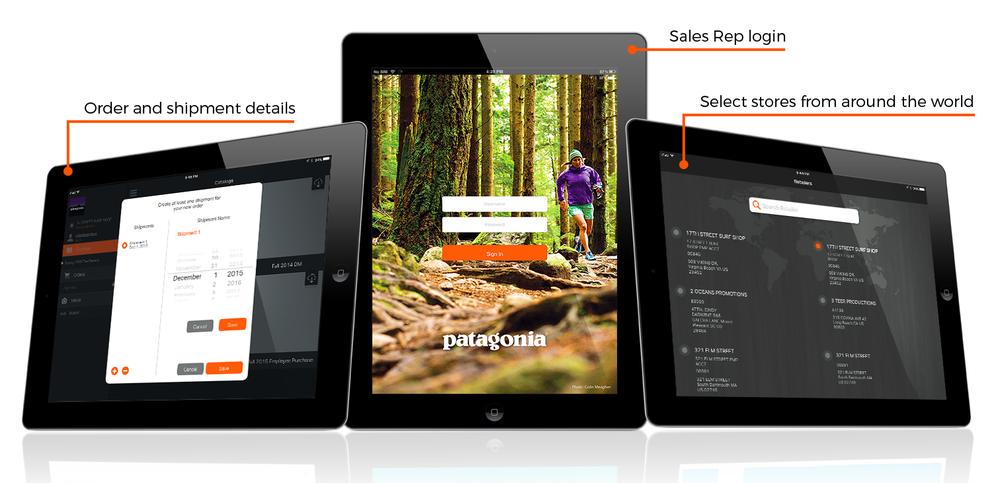 sales order management iPad application