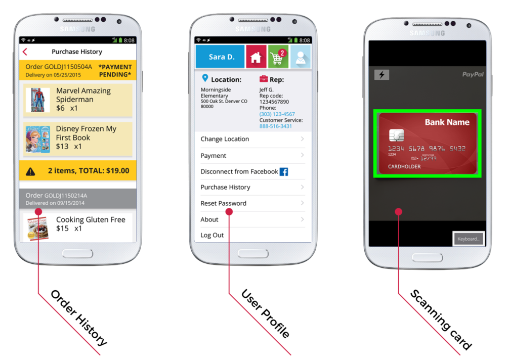 mobile payment integration