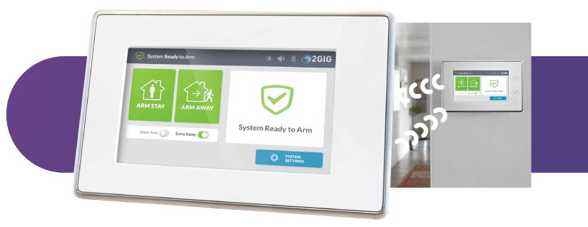 sp2 home security companion device