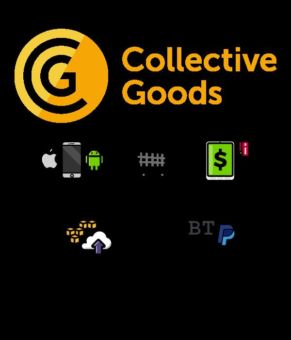 collective-goods logotype tecnologies used