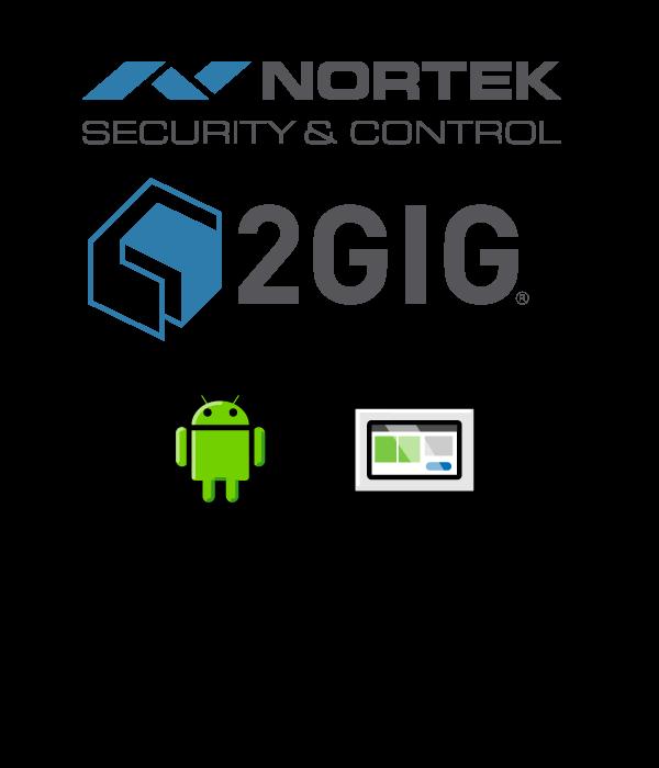 nortek security and control 2gig logo