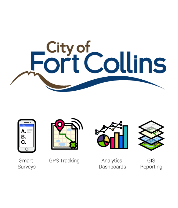city-of-fort-collins logotype technologies used