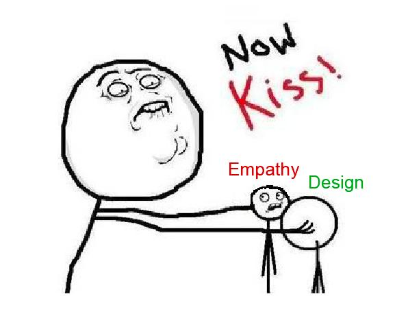 Empathy + Design = Empathic Design… right?