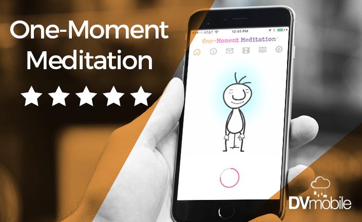 one moment meditation app