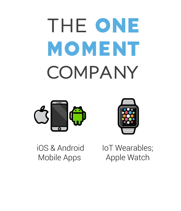 the one moment company logo