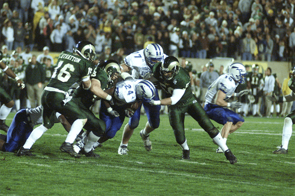 college football game CSU rams