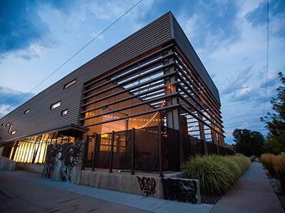 space gallery venue exterior