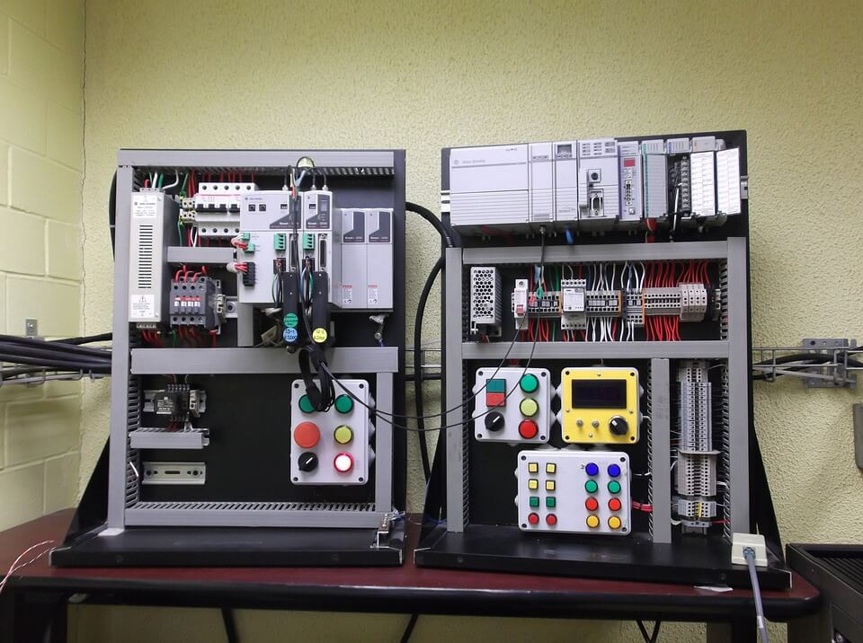 PLC boards gather data and push it to SCADA systems.