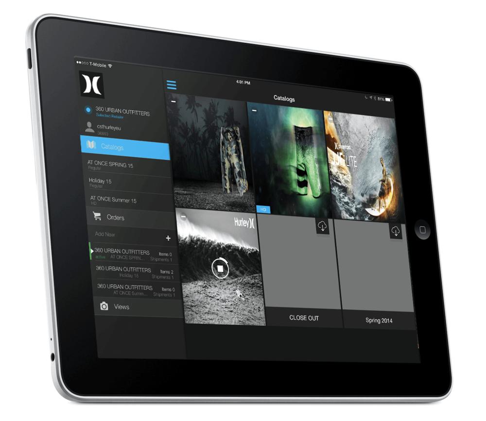 CenterStone b2b iPad