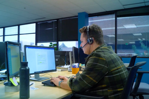 SkywriterMD uses live conferencing to connect healthcare providers with virtual scribes - the WebRTC solution is key to the business.