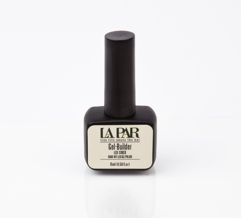GEL-BUILDER - La Par's Gel Builder is not only long lasting all the while providing a protective nail overlay. Promote nail growth and boosts strength.