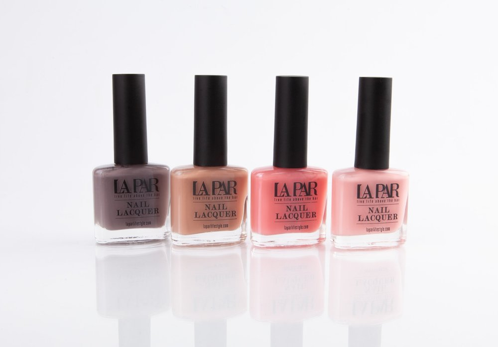 NAIL-LACQUER - Fast drying vibrant lacquer polish. Easy applicator brush makes for the perfect mani. La Par's color collection is sure to have something for every occasion and season.