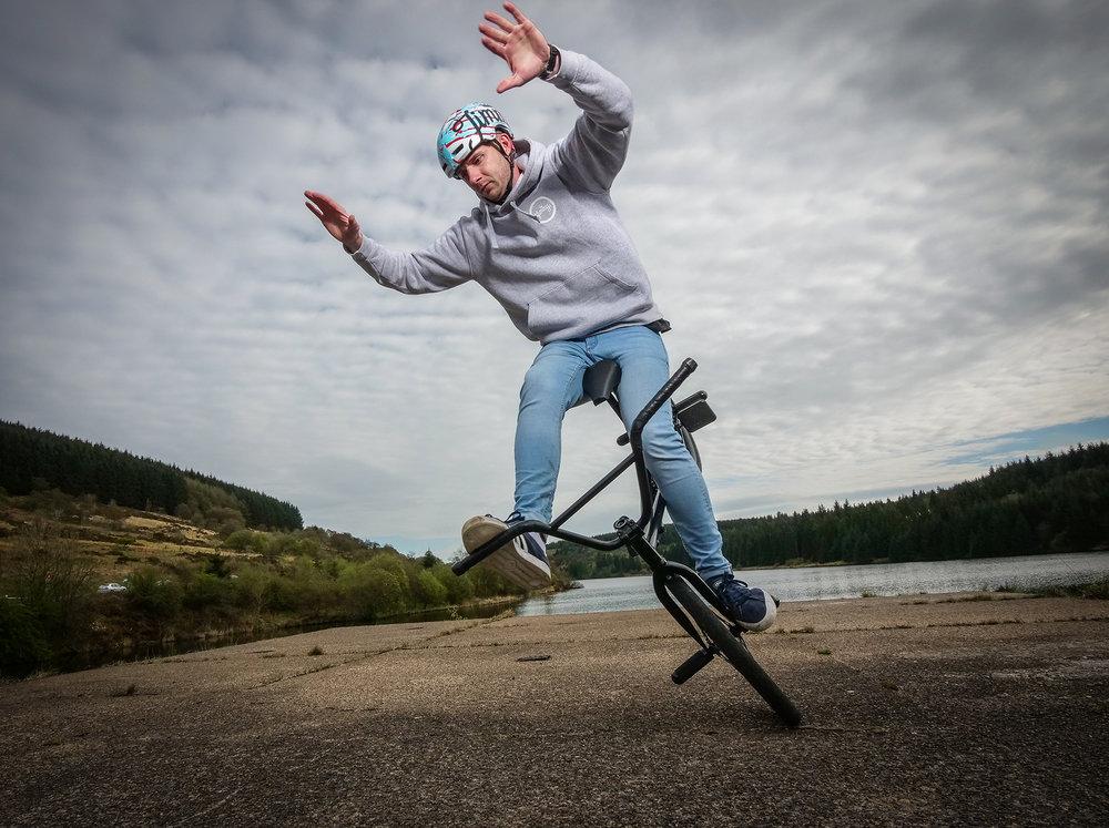 BMX Freestyling World Record Holder Matti Hemmings