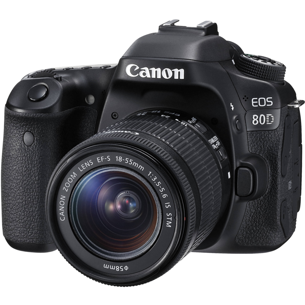 Canon EOS 80D + 18-55IS STM