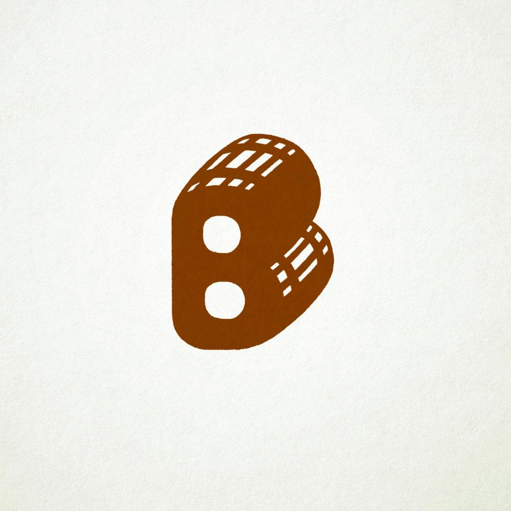 Secondary lettermark
