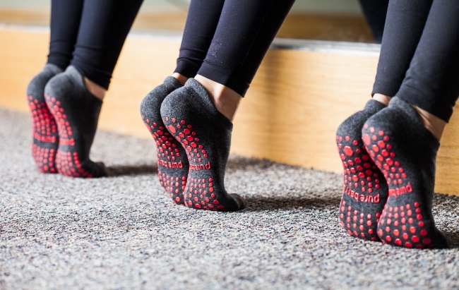 pure barre socks review