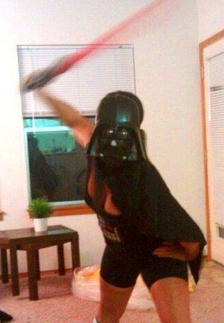 womens darth vader costume