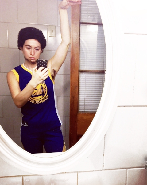 steph curry drag costume