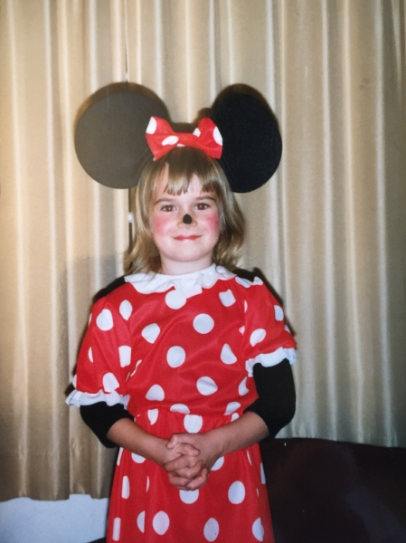 mini mouse halloween costume