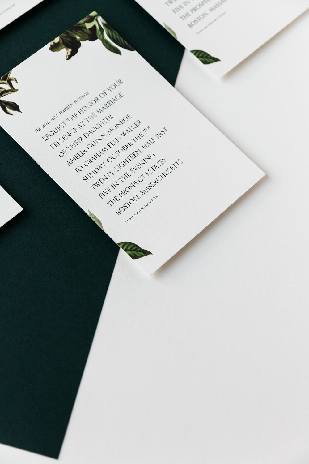 M. Poste | A Modern Paper Company Simplifying Wedding Stationery