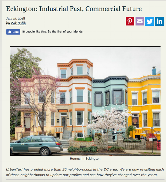 Click here  to great article in Urban Turf about the neighborhood.