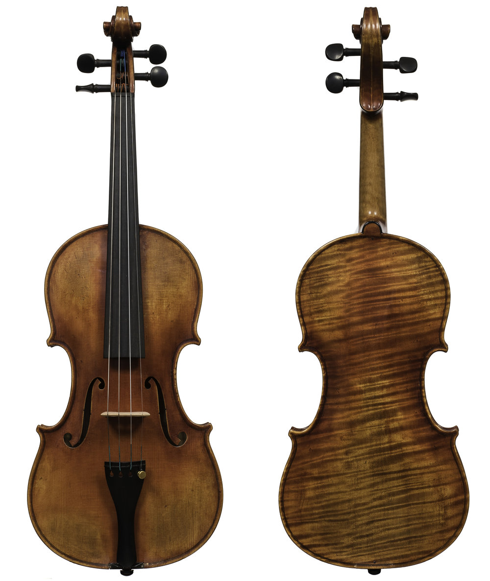 Violin Branded 'Revelle'