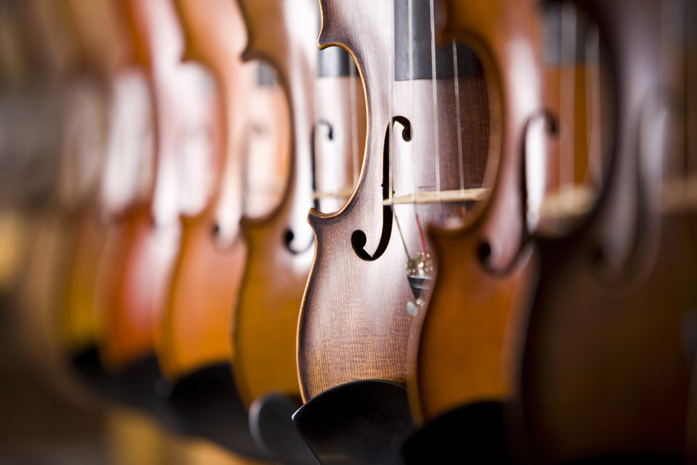 Repairs - Most violins, violas and cellos require regular maintenance. McLaughlin Violins specializes in exacting procedures that can usually be done in a day or two after an initial, complimentary evaluation. Instruments must be seen in person for accurate estimates to be given.