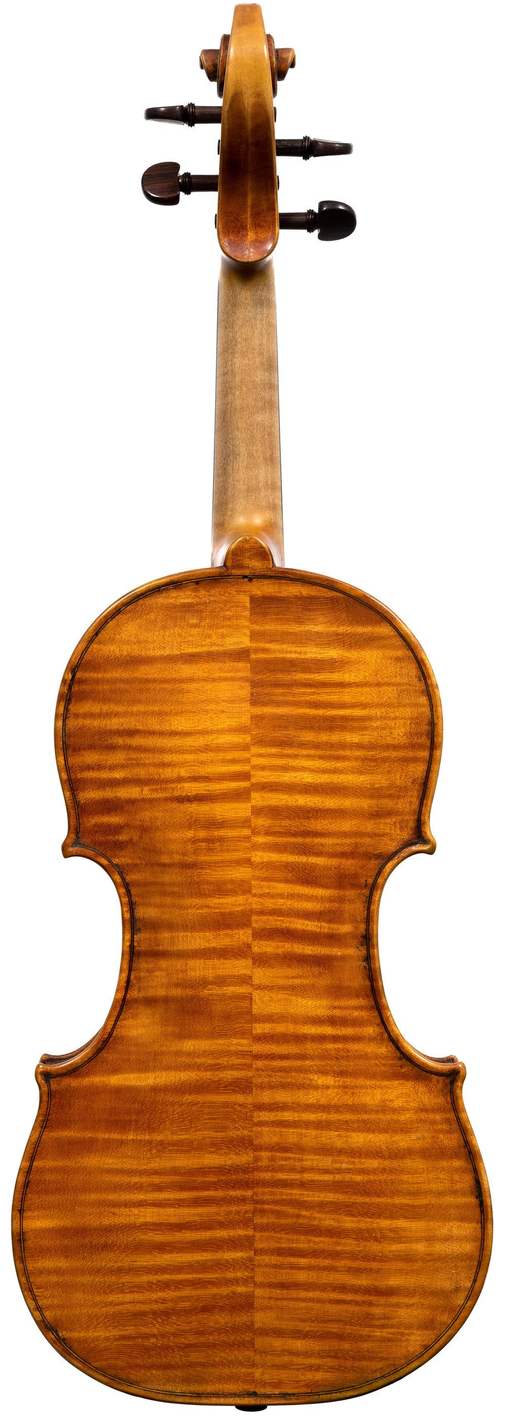 Nathaniel Rowan Violin, Troy, 2014