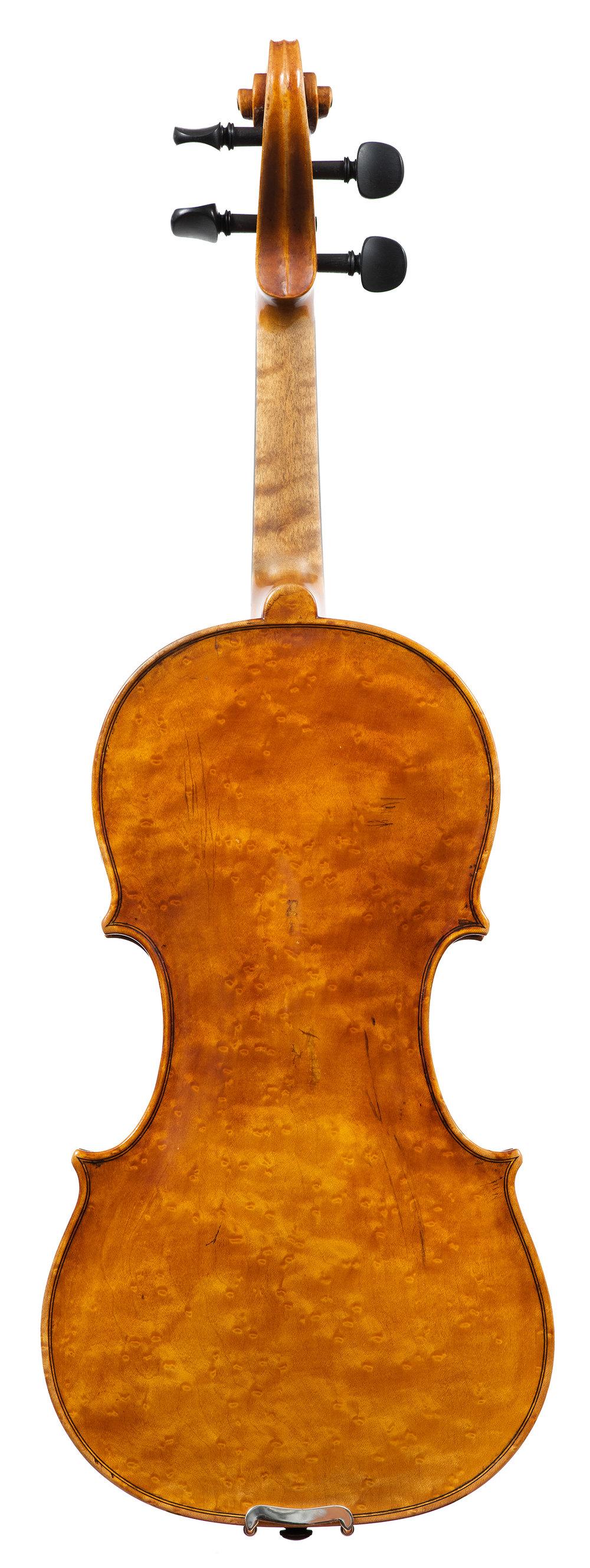 Douglas Cox Violin, 1987, Putney, VT_Back.jpg