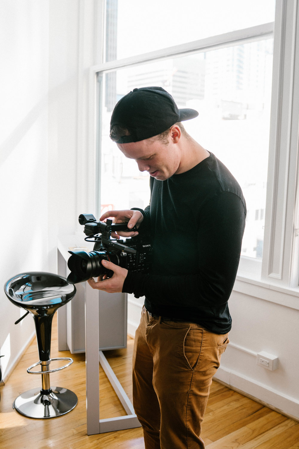 Levi Smith / Videographer - A simple video has the potential to be something beyond ordinary. Capturing the heart behind a business, wedding, or commercial can change everything about what it is. I am an experienced producer in the film scene, and want nothing more than to bring a great idea to a passionate person. Beyond video, I believe all visuals can influence someone in any direction. Whether it be a business logo or graphic, a website for your start up company, or senior pictures, it all starts with a creative eye, and a great idea.  - Levi