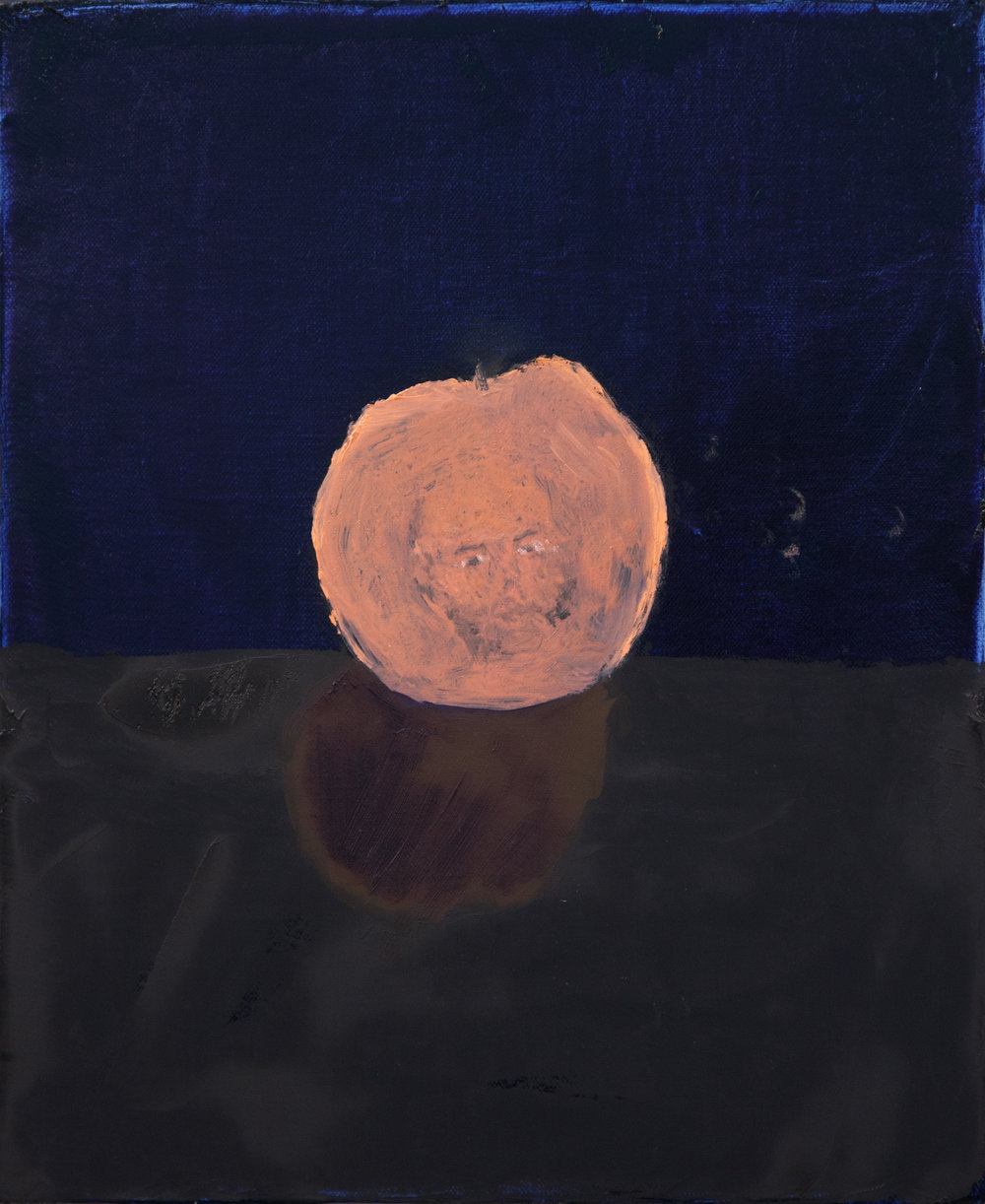 "Dustin Metz ""Self Portrait Peach"""