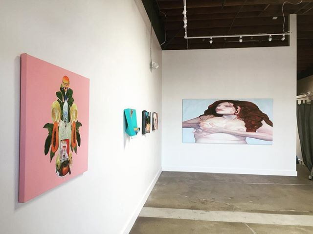 Tonight's the night! Empathy/a is a show of New work by @eversiempre. Check it out, 7-10pm