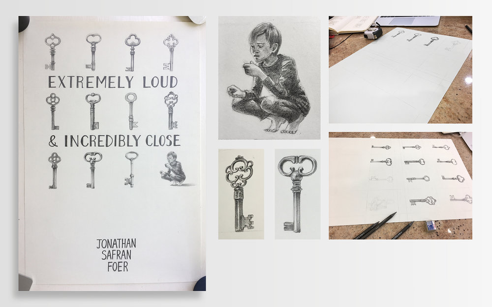 Extremely Loud Incredibly Close Cover Design Frankie Kuo